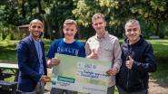 Studenten schenken 660 euro aan Buurtsport