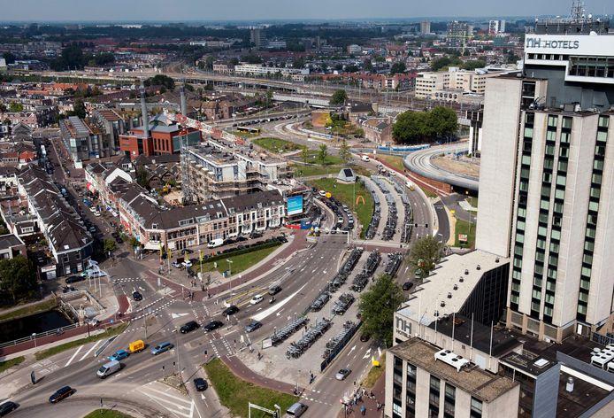 De Graadt van Roggenweg en het Westplein behoren tot de drukste knooppunten van Utrecht.
