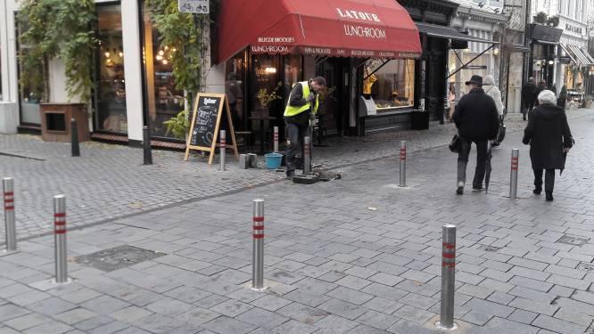 Einde aan het gedoe in centrum Breda: paaltjes d'r uit, camera's houden in de gaten wie de stad inrijdt