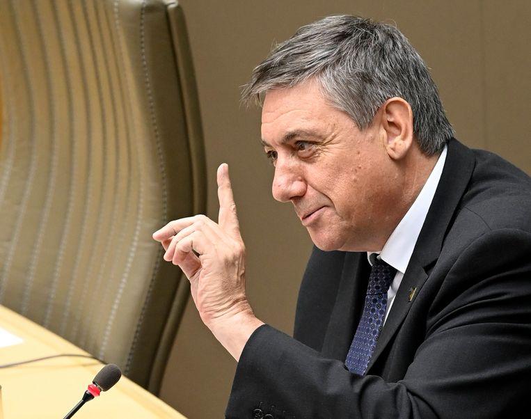 Vlaams minister-president Jan Jambon. Beeld Photo News
