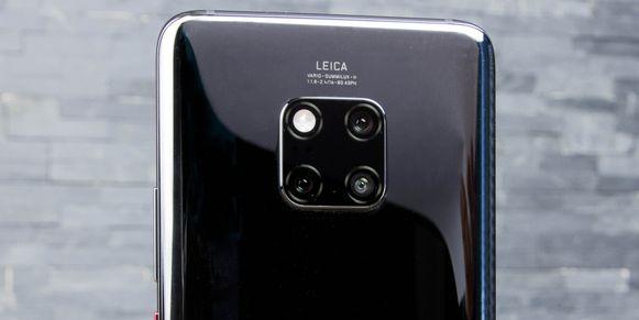 De camerabatterij in de Mate 20 Pro.