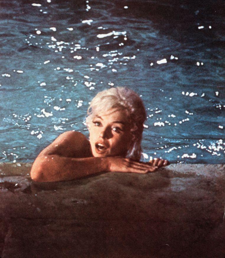 Marilyn Monroe in 'Something's Got To Give' (1962). Beeld Belga