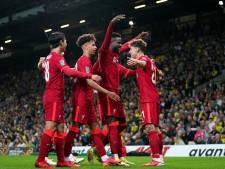 Divock Origi, buteur et passeur avec Liverpool, profite de la League Cup pour s'illustrer