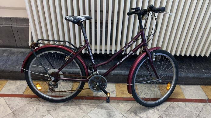 Deze fiets werd gestolen in de Guldenvliesstraat.