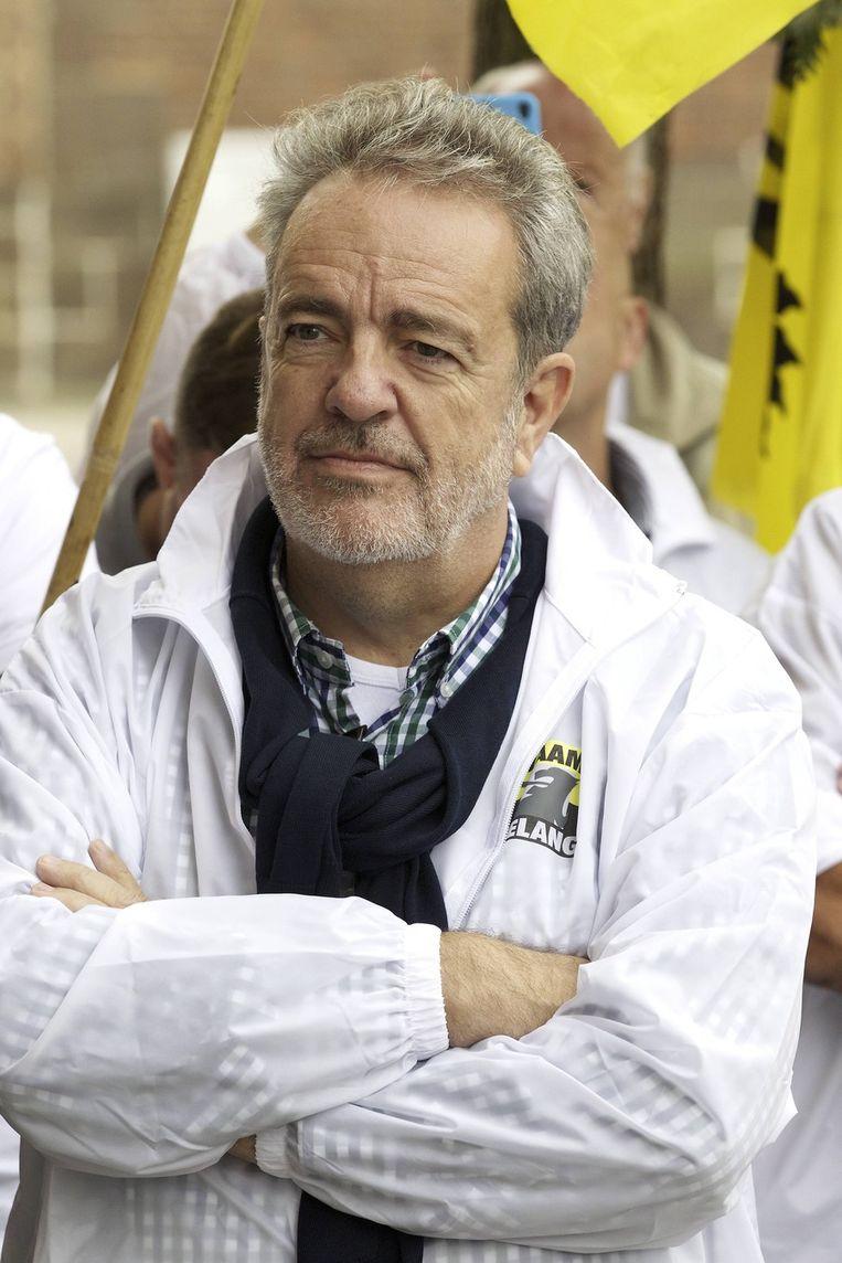 Vlaams Belang-voorzitter Gerolf Annemans. Beeld BELGA