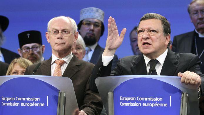 Barroso en Van Rompuy.