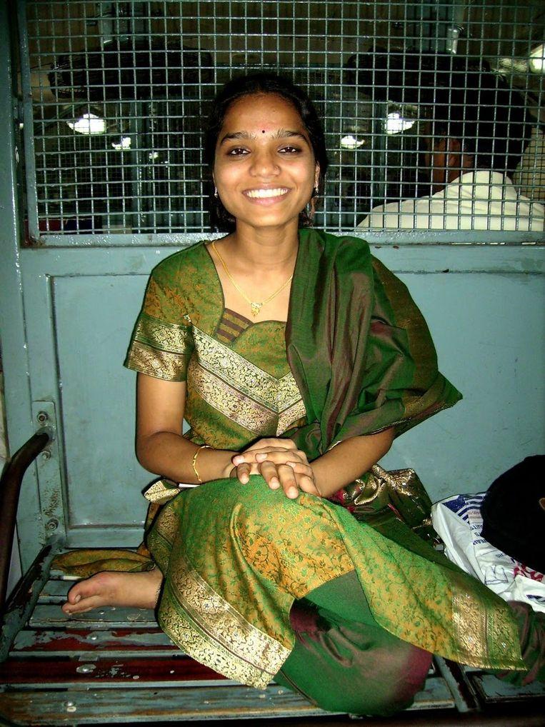 Soloreizen kan prettige gevolgen hebben. Binnenkort trouwt Pepijn met Swati, een Indiase die hij in 2007 leerde kennen. Beeld rv