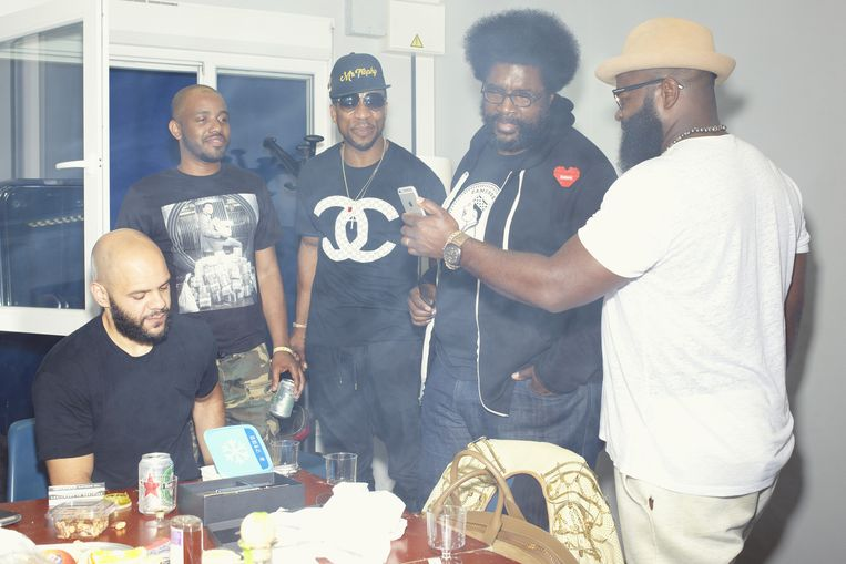 Hiphopgroep the Roots. Beeld Daniel Cohen