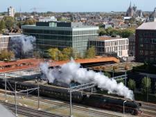 Duitse stoomtreinen rijden een dagje tussen Den Bosch en Tilburg