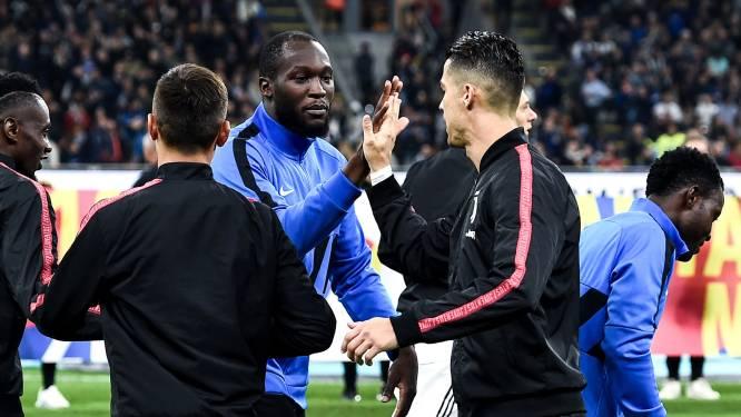 Ooit bijna ploegmaats bij Juventus, nu start Romelu Lukaku even straf als Cristiano Ronaldo in Italië