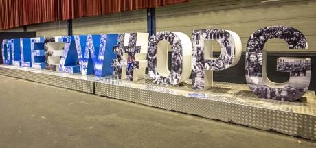 Enorme letters #Opgezwolle komen nu echt in Zwolle te staan (op deze verschillende locaties in de stad)