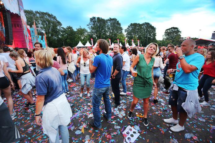 Het publiek genoot van de achtste editie van Breda Live.