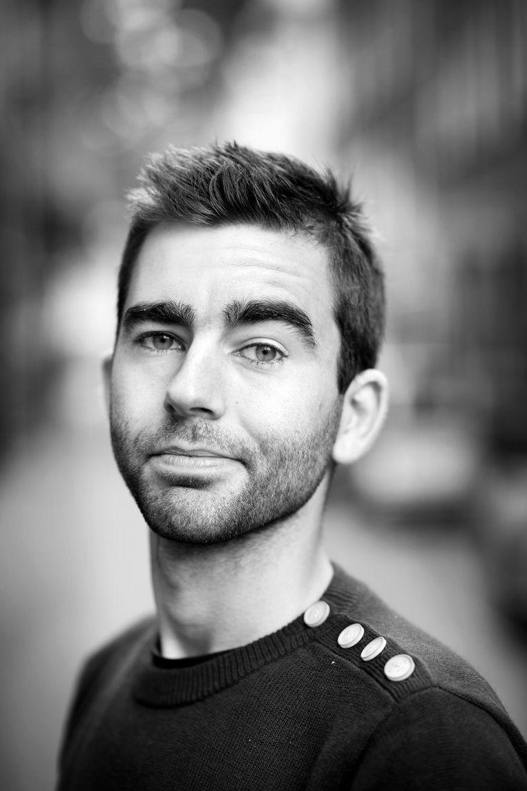 Rutger Lemm, schrijver, comedian en podcastmaker.  Beeld Klaas Fopma