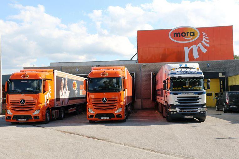 De Mora-fabriek in Mol.