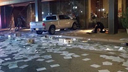 Woedende man ramt gebouw van nieuwszender Fox 4 in Dallas