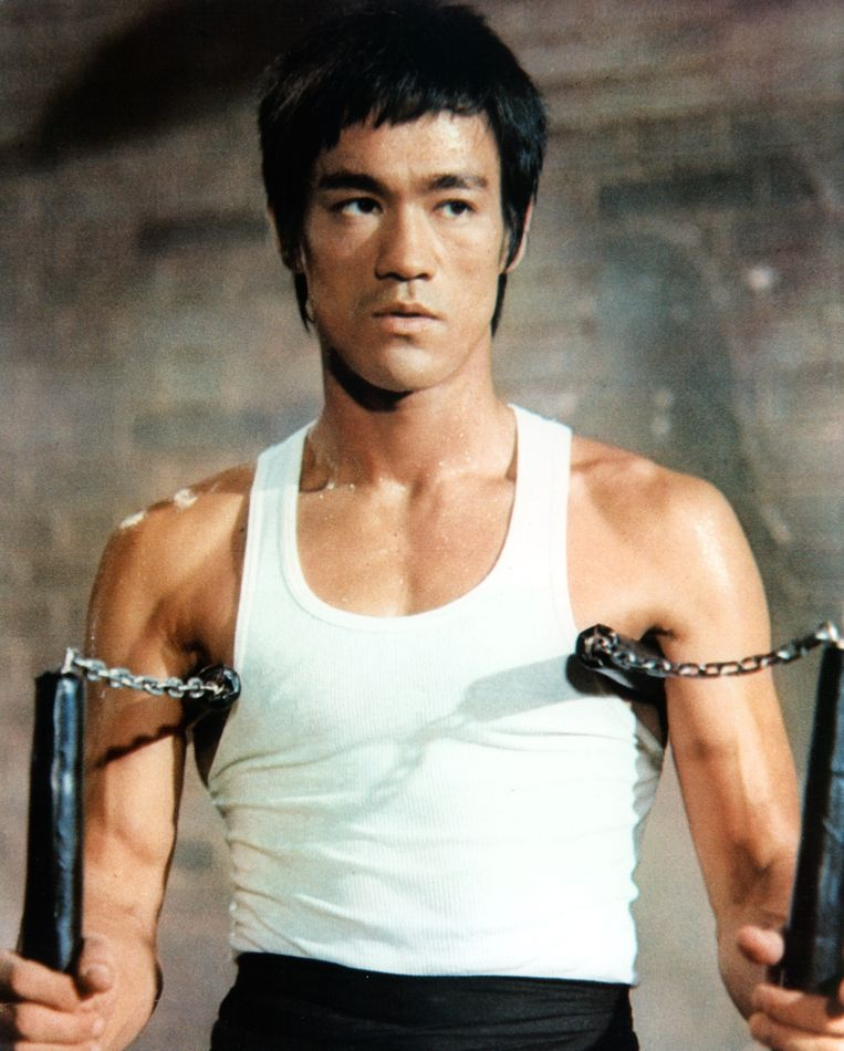 Bruce Lee Beeld Getty Images