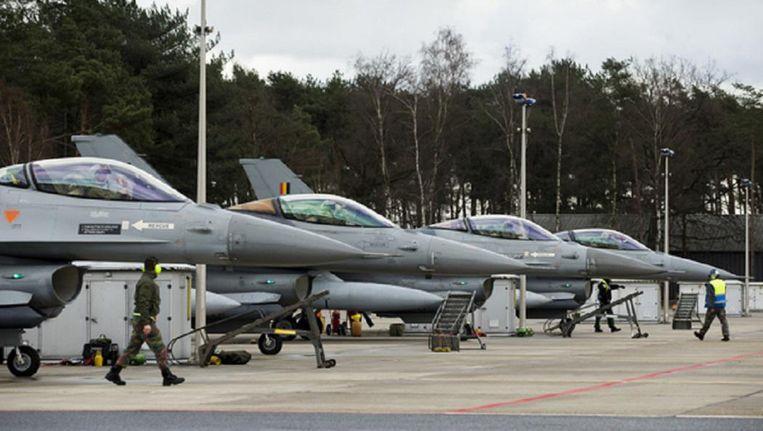 F16-vliegtuigen Beeld ftp