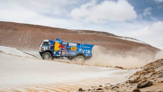 Uitslagen Dakar Rally, etappe 4: Vier op een rij voor Kamaz