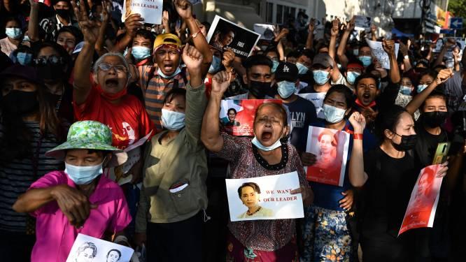Honderdduizend betogers in Myanmar, militaire junta dreigt met hardhandig optreden