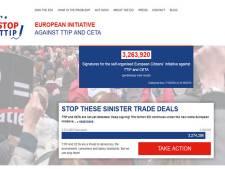 Trois millions de signatures contre le TTIP