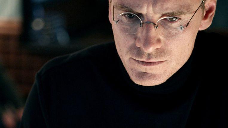 Michael Fassbender in Steve Jobs Beeld