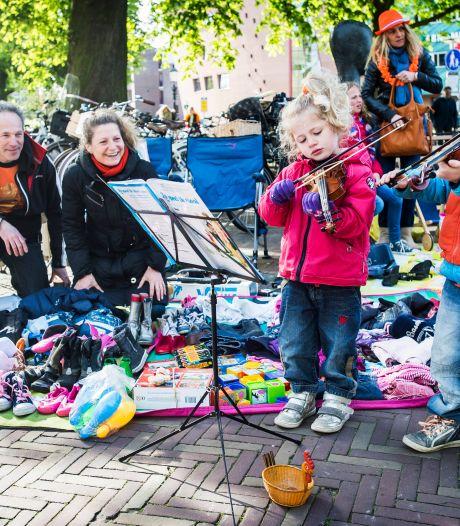Helaas: ook een kleedje in de voortuin mag niet tijdens Koningsdag in Amersfoort