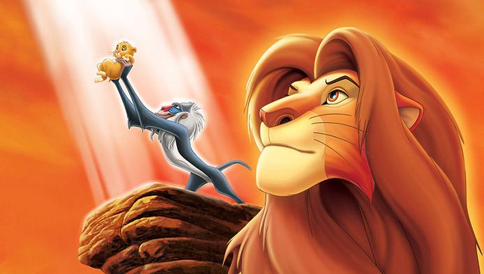 Scene uit The Lion King
