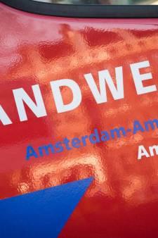 Tweetal gewond door sprong uit raam brandend huis Zaandam