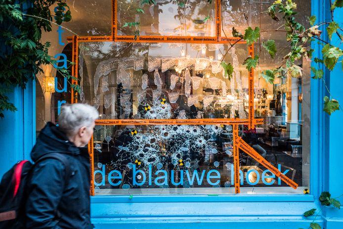 schietpartij bij restaurant de blauwe hoek Arnhem,