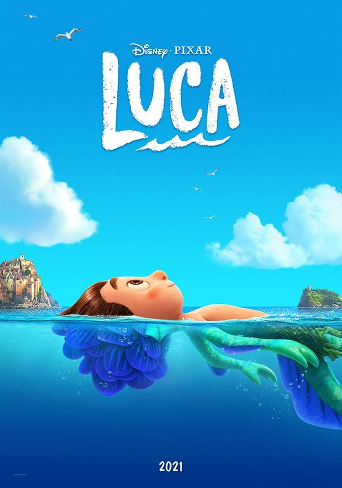 """""""Luca"""" de Pixar est un dessin animé qui donne envie de vacances."""