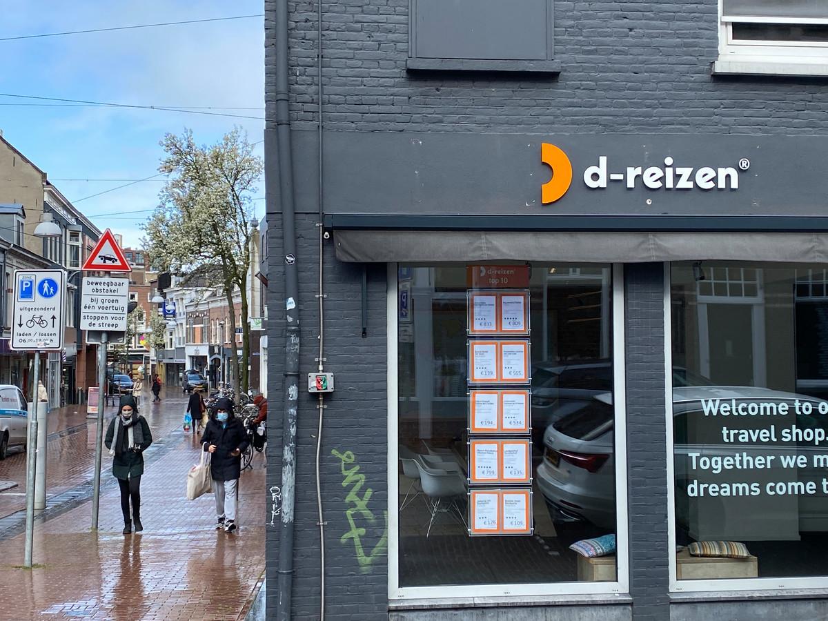 De eerste reiswinkels van D-reizen openen vanaf volgende week weer de deuren.