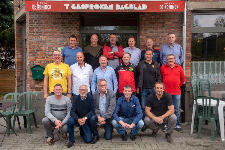 Wandelvoetbalploeg KVVE Massemen mag naar het WK in Londen.