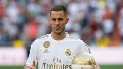 """Eden Hazard klaar voor zijn debuut bij Real, zijn shirt nog niet: """"Ik ga indruk proberen te maken"""""""