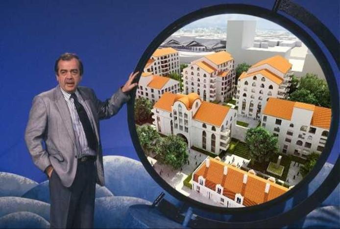 Vakantieman Frits Bom presenteert: Clarissenhof. Photoshop Bas Horsten