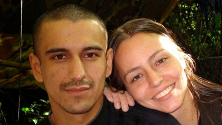 Tanja Nijmeijer op een foto gevonden op een computer van een omgekomen FARC-lid. Beeld REUTERS