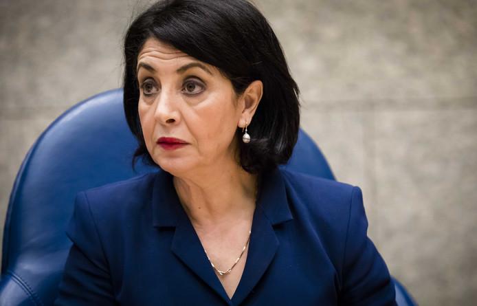 Kamervoorzitter Khadija Arib.