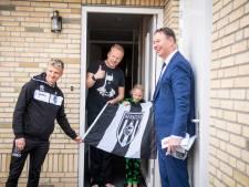 Jarig Heracles bezoekt trouwe fans: 'We zijn al die loyale supporters zeer dankbaar'