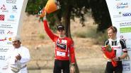 "Ben Hermans behoudt leiderstrui in Oman na ""lastige finish"" in derde rit"