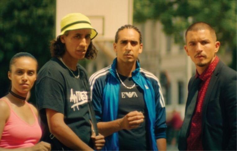 Matteo Simoni als dealer Adamo in 'Patser': 'Ik heb het Marokkaanse accent geleerd van de andere acteurs'  Beeld