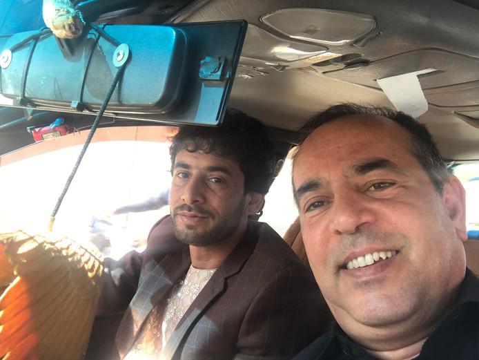Qader Shafiq (rechts).