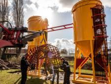 Nieuw in Speeltuin Helmond-West: klauteren in betonsilo's