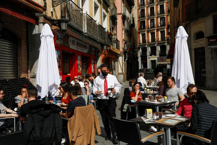 Vol terras in Madrid.