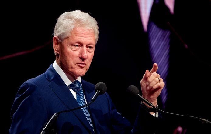 Bill Clinton staat bekend als een goede spreker.