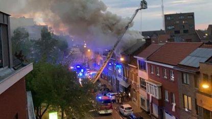 Zware brand aan Tiensesteenweg in Sint-Truiden