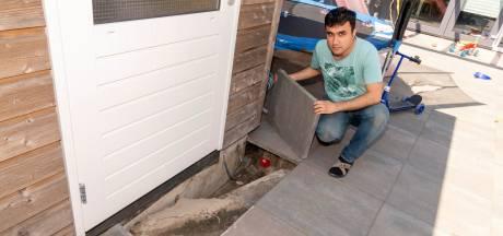 Hoezo dossier wateroverlast Harderwijk afsluiten? Bewoners zitten nog met de nattigheid