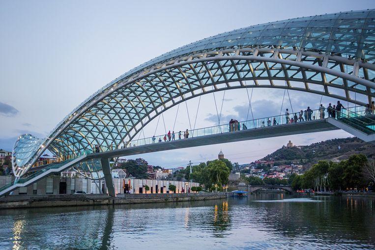 De Bridge of Peace.  Beeld © José Fuste Raga