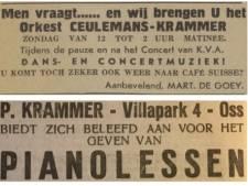 Oss heeft veel muzikaal talent: familie Krammer belandde wekelijks in de krant