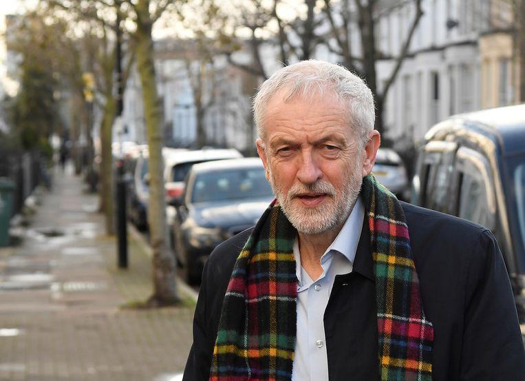 Jeremy Corbyn zou nog tot eind maart partijleider van Labour blijven. Beeld REUTERS