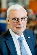 Piet Mosterd van het Harderwijkse bedrijf AWL, dat onder andere robots maakt voor de Duitse markt.