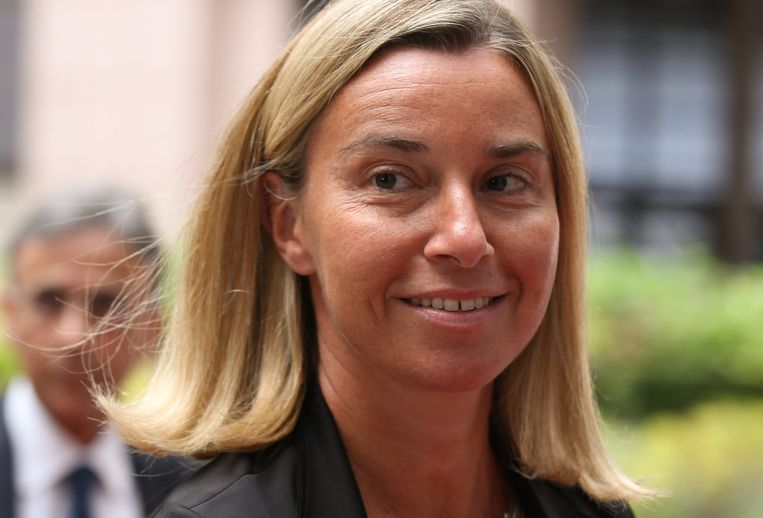 Federica Mogherini. Beeld epa